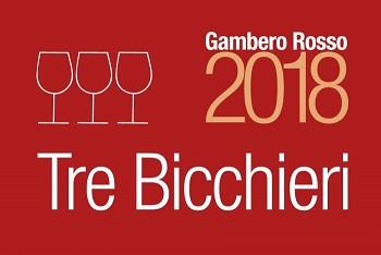 Tre Bicchieri Gambero Rosso 2018